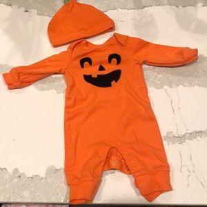 Carters Pumpkin outfit